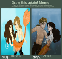 Improvement! Philip and Syrena Style by wolf-pirate55