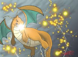 Dragonite's Last Stand by NUbigred