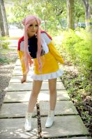 Euphemia Li Britannia Yellow Dress Cosplay by SailorMappy