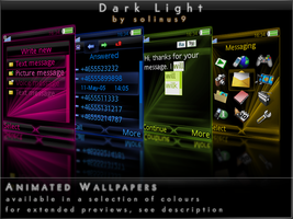 Dark Light Phone Theme by solinus9