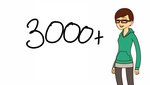 3000+ subs!! by puppyland25