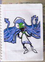INVADER Squid Girl by twitterfan