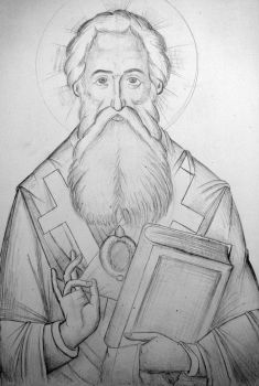 Saint Parthenios by stratilatis