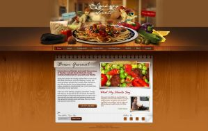 Cooking Site Design by bojok-mlsjr