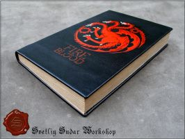 Leather Diary Fire and Blood (Targaryen) by Svetliy-Sudar