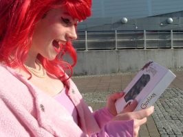 MCM Expo: Ariel and chocolates by LabyrinthLadyLover