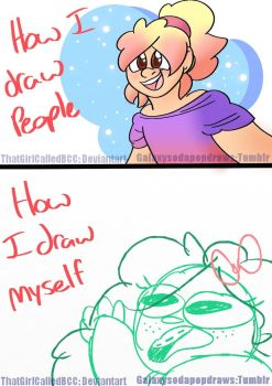 Draw yourself by ThatGirlCalledBCC
