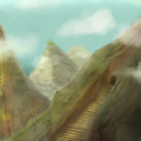 Mountains by CrisisDragonfly