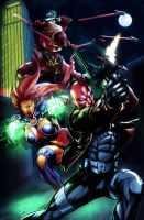 Redhood And The Outlaws by RobertoAGM