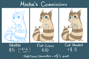 Commission Sheet by Sushiba