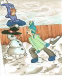 Snow Fight Complete by caskippe