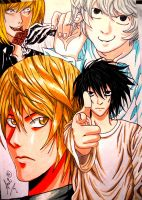 Death Note by SatKyoyama