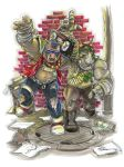 TMNT's Bebop And Rocksteady by IanNichols