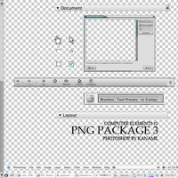 PNG PACKAGE 3 by kanamme