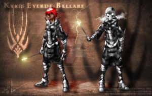 Kyris Eyerde-Bellare by MoonstalkerWerewolf
