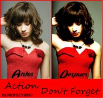 """Action para PSc """"Don't Forget"""" by Mica-Editions"""
