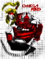 Omega Red by striderchea