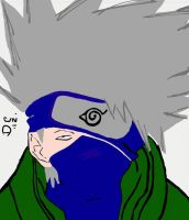 Kakashi :D by cockneynutjob