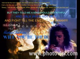 Michael Jackson Will You Be Their Poster Tribute by PhantomMasterRamos89
