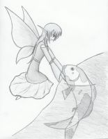 Serenity-Farie and Carp by TheRedCello
