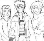 Naruto Sketch by Initio-et-Finem