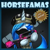.:Horse with Famas:. by Gamermac