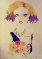 Blonde - Violett, the Dreamer by Temorarily