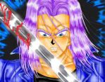 Mirai no Trunks2 by ILoveTrunks