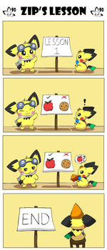 Zip's Lesson by pichu90