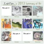 2013 Summary of Art by EagleFlyte