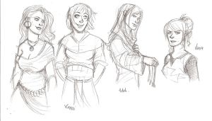 assassin's Creed women by the-evil-legacy