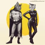 A Bat and A Cat by YannickBouchard