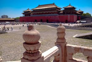 inside forbidden city by macgl