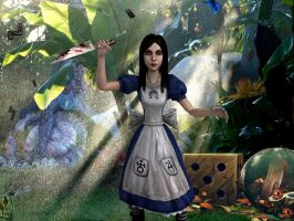 Alice in Wonderland by capconsul