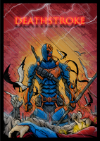 Deathstroke by Abylaikhan