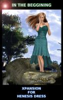 IN THE BEGINING for Henesis Dress - FANCY GATOR by DiYanira
