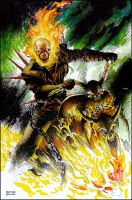 Ghost Rider by orphanshadow
