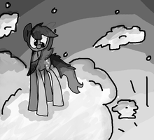 derpin' on the clouds by B1LL1E