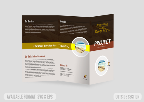 Trifold Brochure Concept by ademalsasa