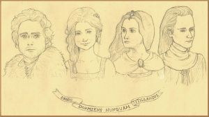 The Four Founders by Segomichoco