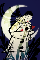 Pierrot The Clown by coinoperatedbear