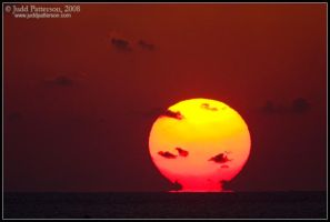 The Sun Melts by juddpatterson