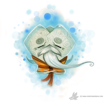 Day 747# Widsom Tooth Quickie by Cryptid-Creations