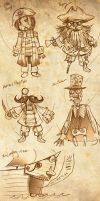 Candle Cove doodles by Drunkfu
