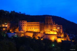 Castle in Heidelberg by stefst13