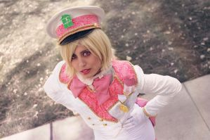 Militarystuck! Roxy Lalonde Cosplay by Khainsaw