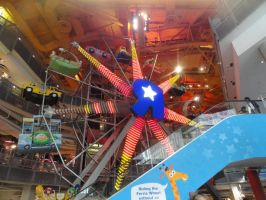 Ferris wheel in Toys R Us by e1ectricthunder