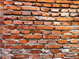 Red brick wall 2 by Greyfaerie4