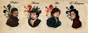 The Musketeers by giadina96