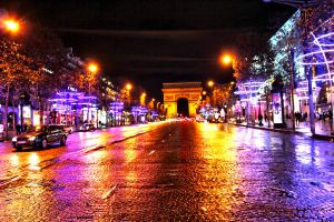 Champs Elysees by AuroraxCore
